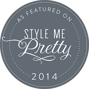 2014, 2015, 2016 Member of Style Me Pretty's Little Black Book