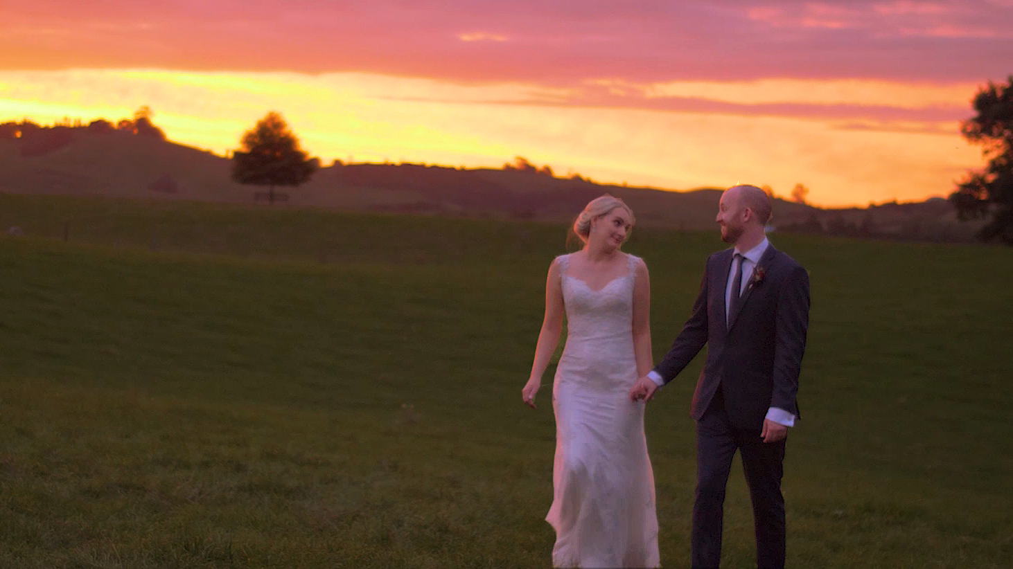 red barn wedding videographer
