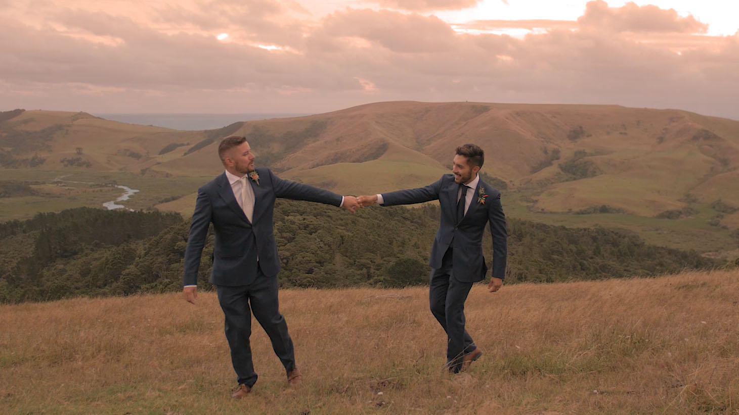 auckland gay wedding videographer