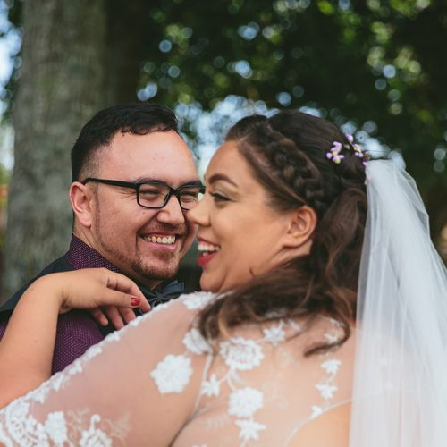 backyard wedding videographer