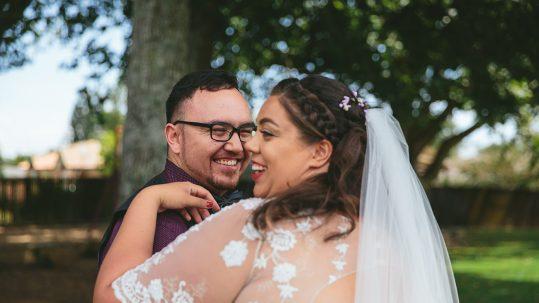 backyard wedding videographer