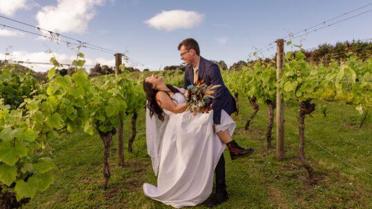 waiheke wedding videographer